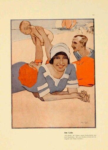 Firmata  DUDOVICH:1910 - FROM ★ ALBUM CORSO ★ -  ,  Litografia