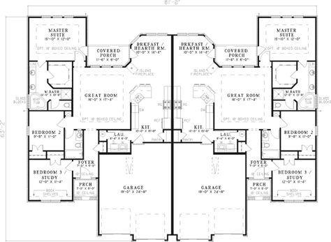 1000 ideas about duplex house plans on pinterest duplex for House plans and more com home plans