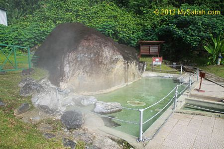 Poring Hot Springs, after descent from Mt Kinabalu summit