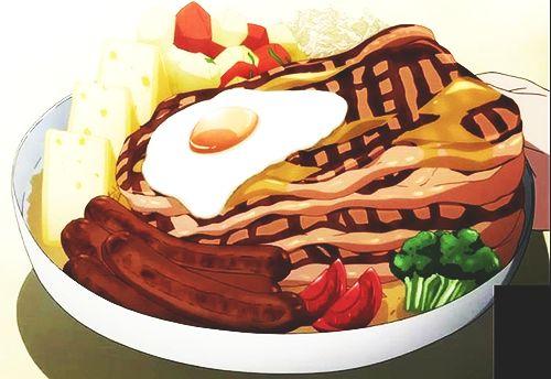 Carne alla griglia con wurstel, uova, broccoli, peperoni, pomodori, patate e formaggio (Go sick)