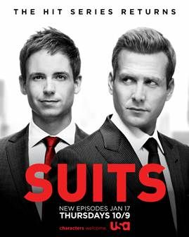 A Giveaway for SUITS!!
