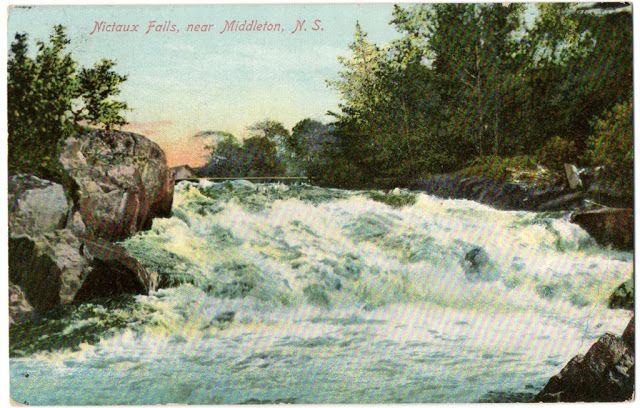 Nicteaux Falls, Nova Scotia Circa 1910
