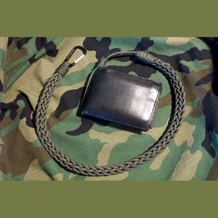 Tactical wallet lanyard paracord pinterest the o for How to make a paracord wallet chain