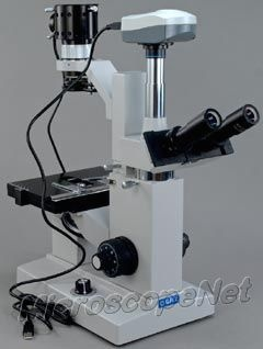 OMAX MicroscopeNet Trinocular Inverted Compound Microscope 50x-1000x with 9.0MP Camera $4699.99    #microscope #biology