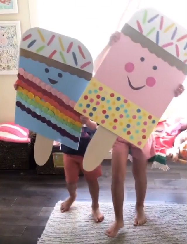 Summer Popsicle themed poster