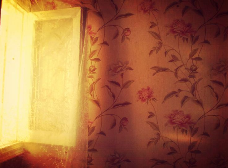Sunset in my room ^_^
