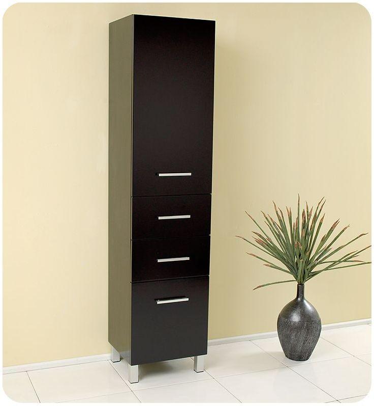 17 best ideas about freestanding bathroom storage on - Freestanding bathroom linen closet ...