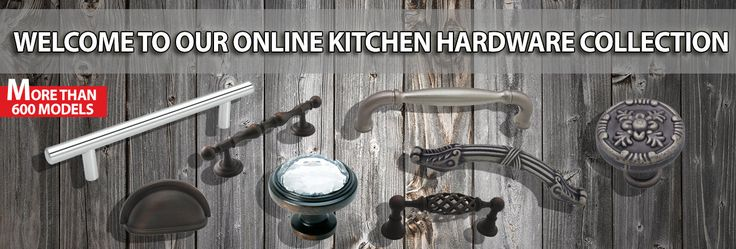 With the technology we have today behind the Internet, there's no need to go through the hassle of traveling to a hardware store just to search for that kitchen doorknob that will perfectly match the design of your kitchen.