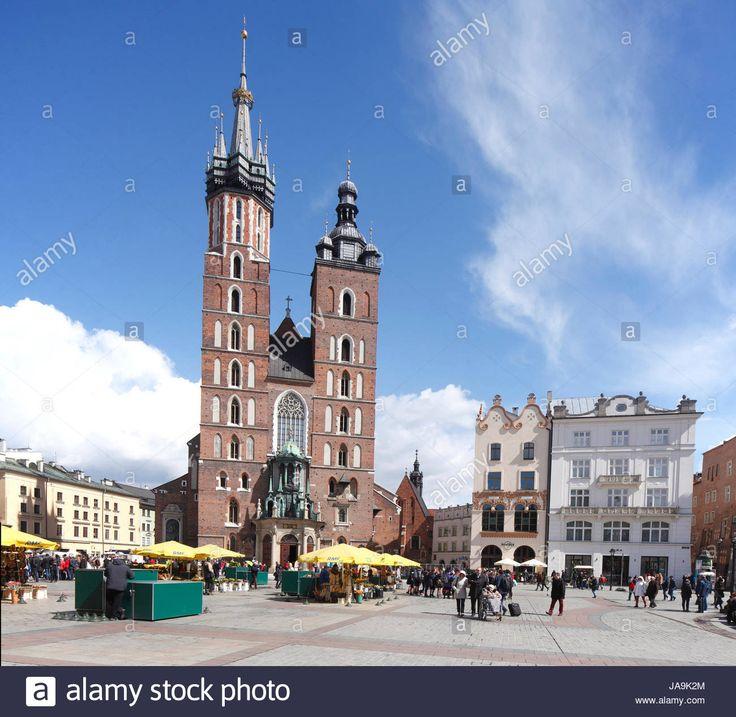Laden Sie dieses Alamy Stockfoto St. Marienkirche auf dem Rynek, UNESCO-Weltkulturerbe, Krakau, weniger Polen, Polen, Europa - JA9K2M aus Millionen von hochaufgelösten Stockfotos, Illustrationen und Vektorgrafiken herunter.