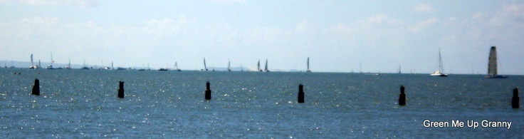 Brisbane to gladstone Yacht Race 2012
