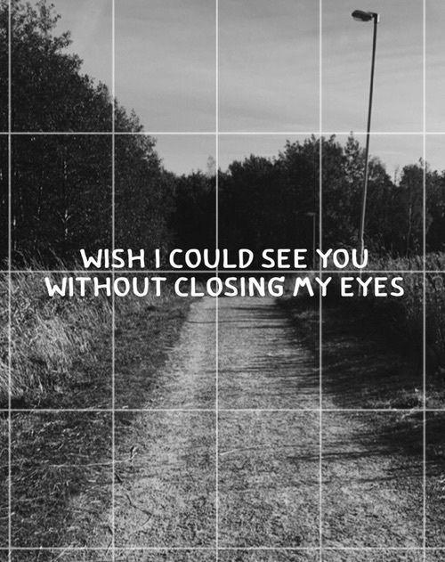 How I wish...