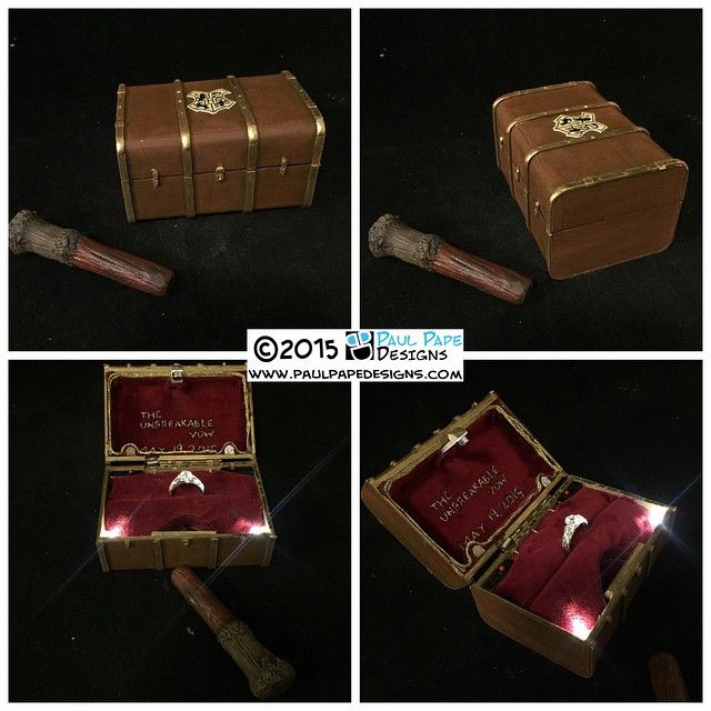 harry potter engagement ring box
