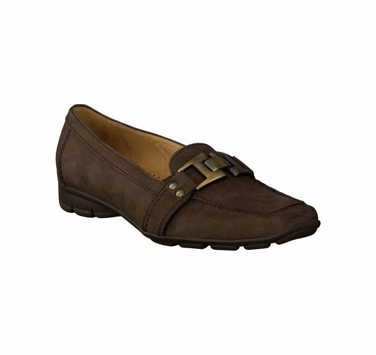 Gabor Slipper 288032 braun Leder - Damenschuhe im Online-Shop von GISY Schuhe