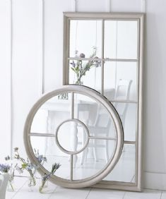 Windwashed mirrors