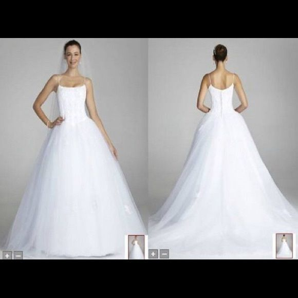 655 best images about fabulous wedding gowns on pinterest for David s bridal princess wedding dresses