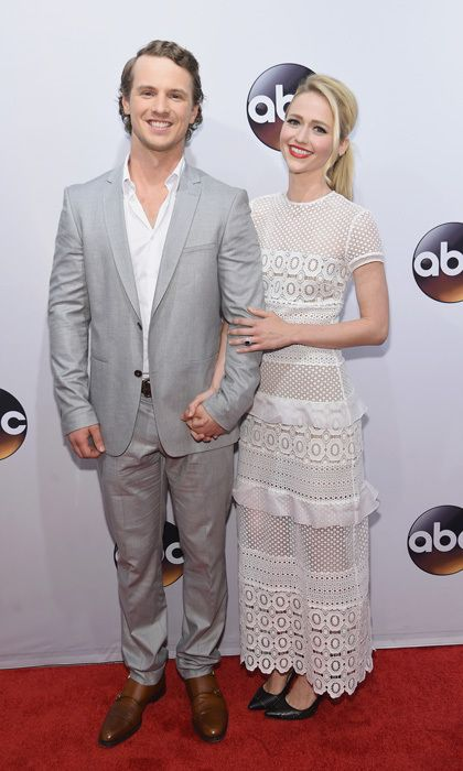 Freddie Stroma and Johanna Braddy tied the knot in Georgia ahead of 2017.