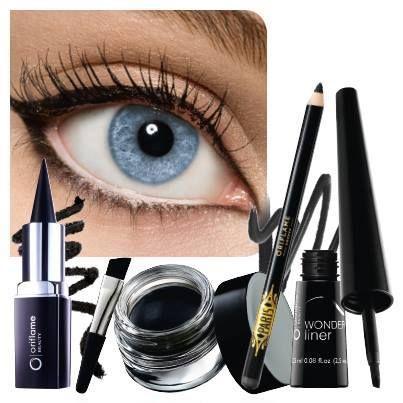 oriflame black eye make-up