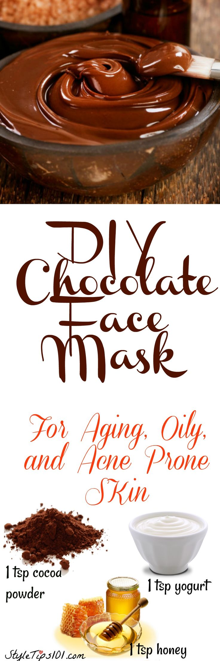There's something delicious for your skin #facemask #chocolatemask