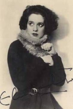 Elsa Lanchester (1902-1986) -  English-American character actress with a long career in theatre, film and television.