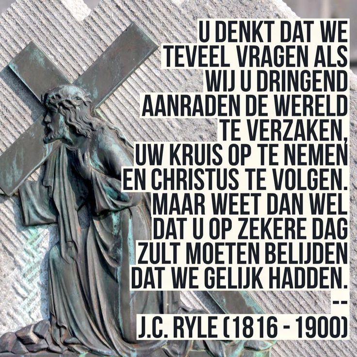 Dringend aanraden - J.C. Ryle (1816 - 1900)