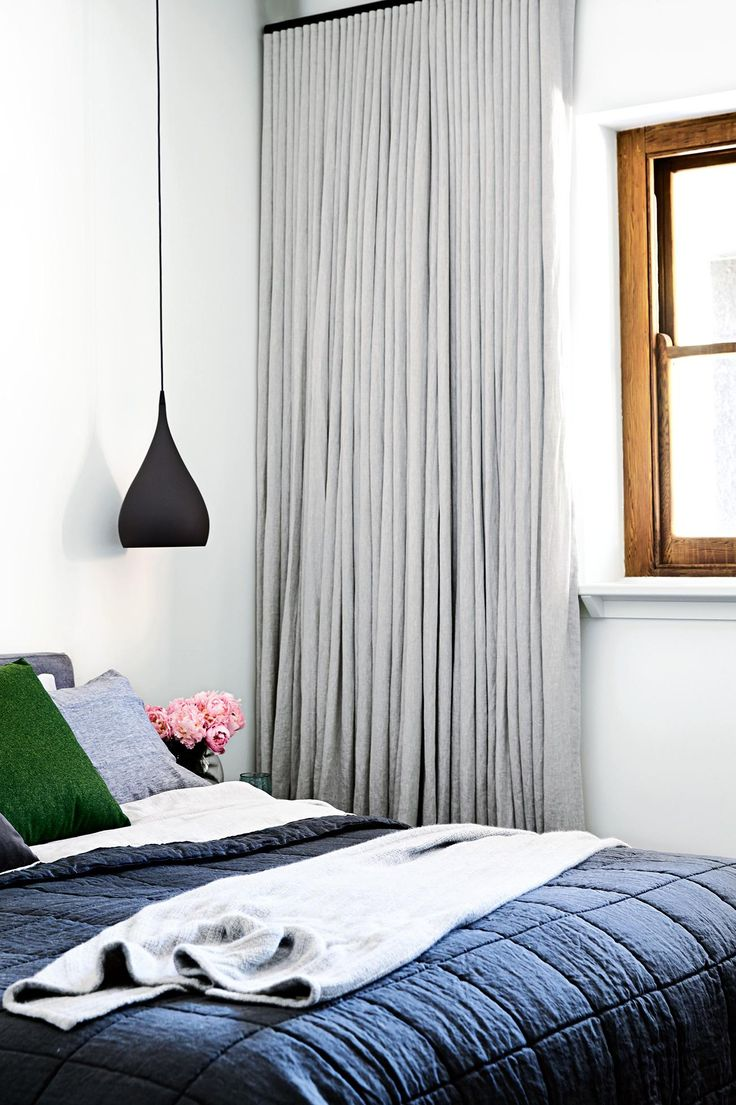 Contemporary Curtains, Soft Carpets And Rich Timber Set A Luxe Tone In This  Space.