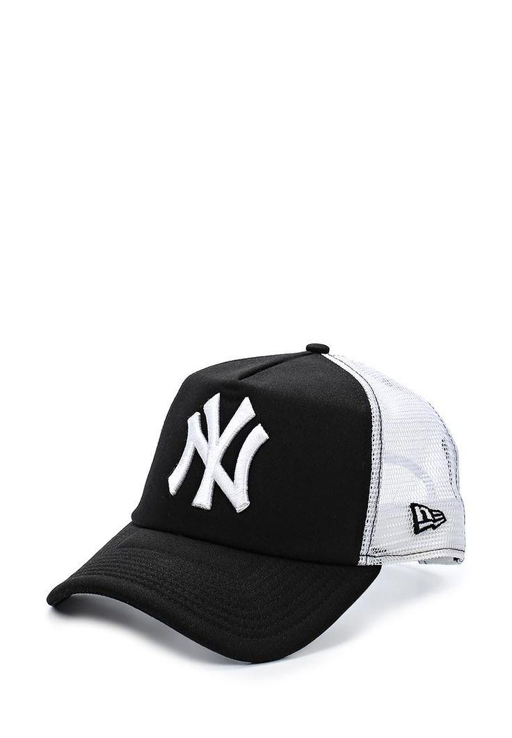 Бейсболка от New Era черного цвета. Модель выполнена из износоустойчивого мягкого хлопка и декориров