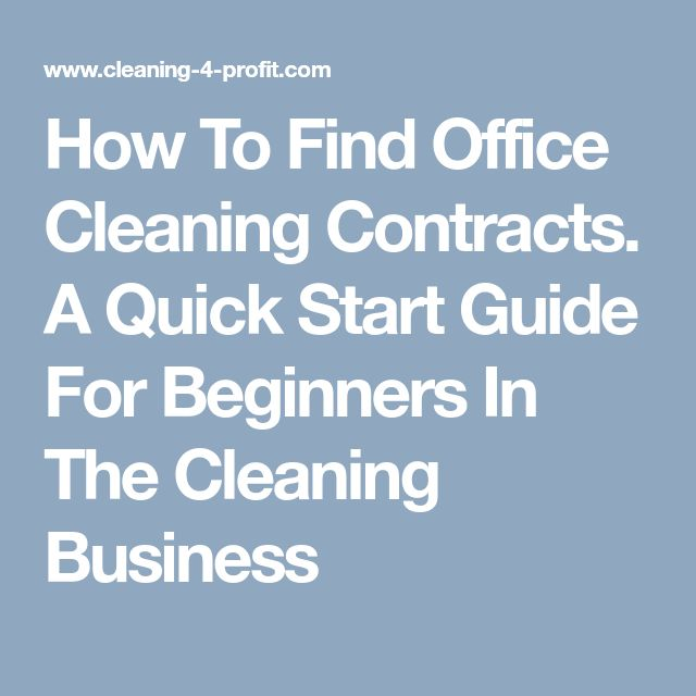 Best  Cleaning Contracts Ideas On   Business Cleaning