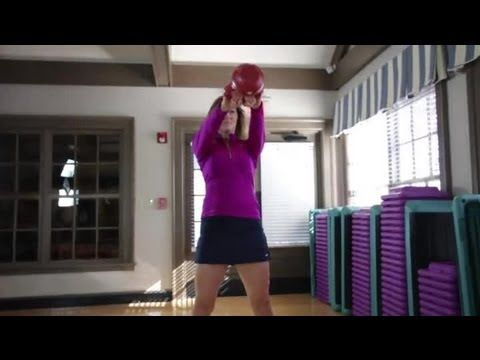 Kettlebell Exercises for the Hips : Fitness Training