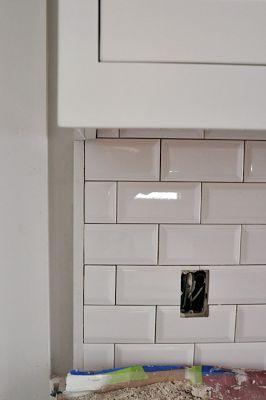 Best 25 Beveled subway tile ideas on Pinterest White subway