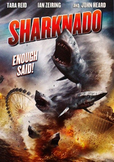 "Lolo Loves Films: As Seen on TV! Movie Review: ""Sharknado"" (2013) #movie #movies #moviereview #netflix #moviepass #sharknado #ianzeiring #tarareid #johnheard #sharks #ocean #tornado #madefortv"