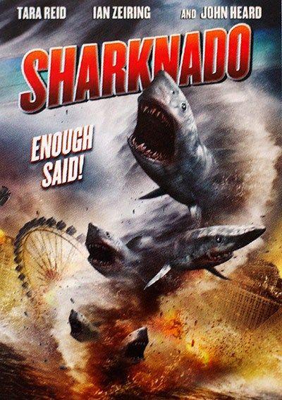 "Lolo Loves Films: As Seen on TV! Movie Review: ""Sharknado"" (2013) #movie #movies #moviereview #netflix #moviepass #sharknado #ianzeiring #tarareid #johnheard #sharks #ocean #tornado #madefortv"