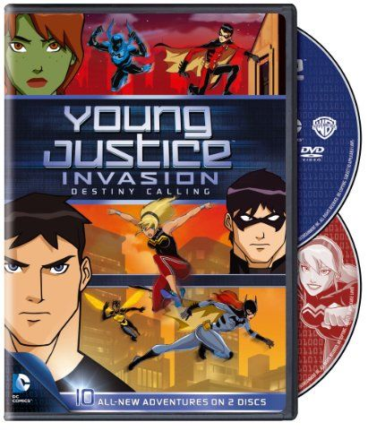 Young Justice Invasion Destiny Calling: Season 2