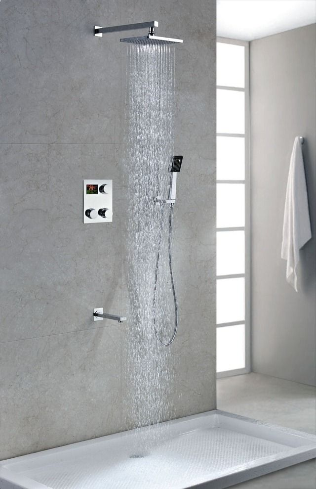 Bathroom Rain Shower Ideas best 25+ showerhead parts ideas only on pinterest | modern