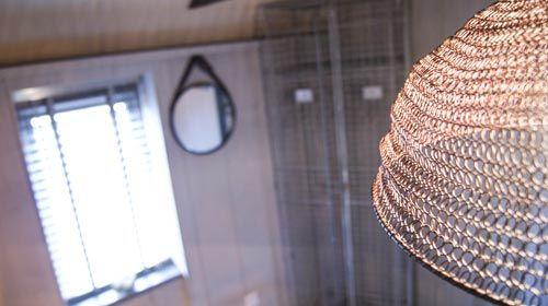 ned's nest - bedroom light