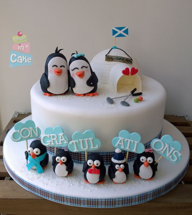 Penguin engagement cak...