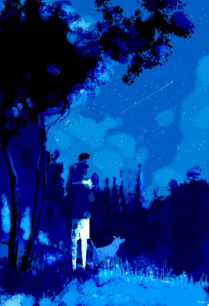 Stars. #pascalcampionart  _HI GRANDPA! _?...why are you saying this Colin? _'cause each time you look at the stars, you think of your daddy, daddy..right? _............................ _Colin...how do you know this? _Mommy told me. _... _Do you want to say hi to your daddy, daddy? _ ...HI Pop