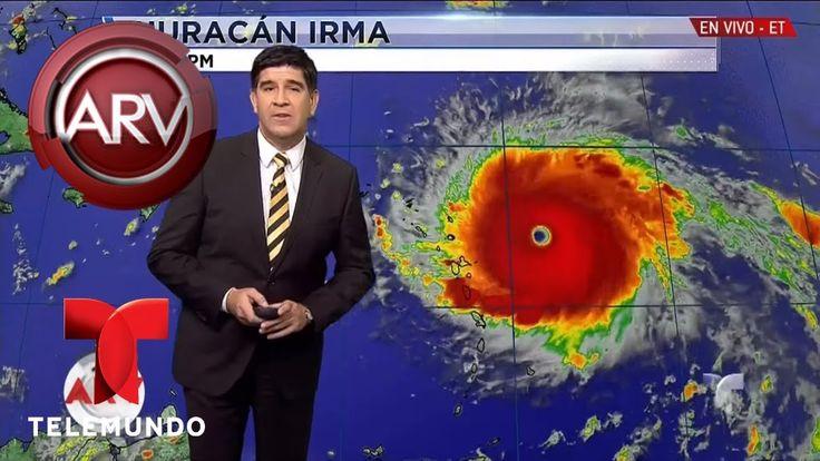 Irma se convirtió en un monstruoso huracán | Al Rojo Vivo | Telemundo