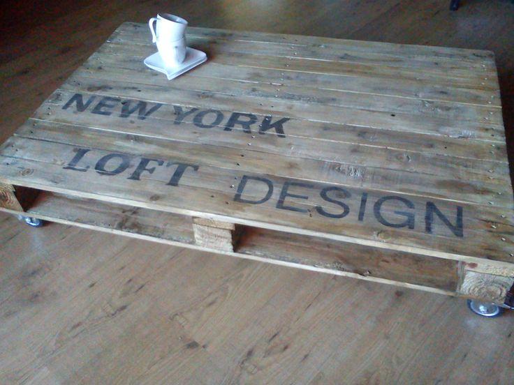 Couchtisch Palette New York Design