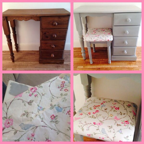 Shabby chic dressing table x