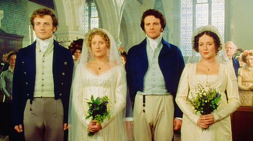 a description of the two marriages in jane austens pride and prejudice Jane austen weaved four marriages in pride and prejudice the four marriages are all different from each other through these different marriages, jane austen showed us the true social problems and characteristics of that time, and implied her own values of marriage.