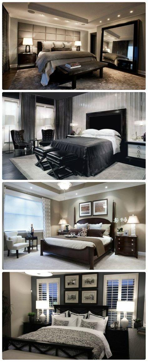 Schlafzimmerideen für romantische Paare #homedecoration #badroom