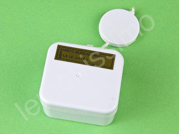 Musikdose - WASSERDICHT-  Spieluhr zum einnähen von Lavenduly auf DaWanda.com