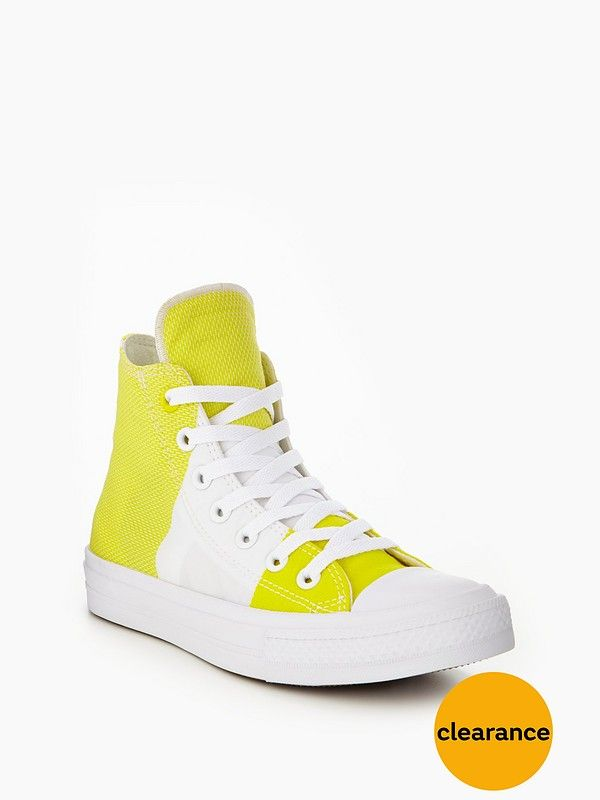 Converse Chuck Taylor All Star II Hi-Tops - Yellow White When you need 362031a15