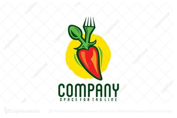 Weird Food Logo 5