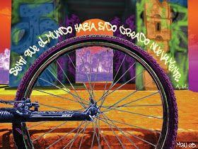 La Condor de Albert Hofmann* El 19 de abril se festeja el Día de la Bicicleta, en honor al genio suizo de la bioquímica que sintetizó el LSD...
