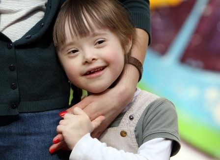 Special needs double standard?.....what a sweet picture! Looks so happy