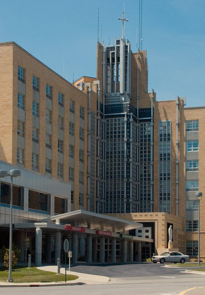 St Elizabeth's Hospital, Belleville, IL - where I was born