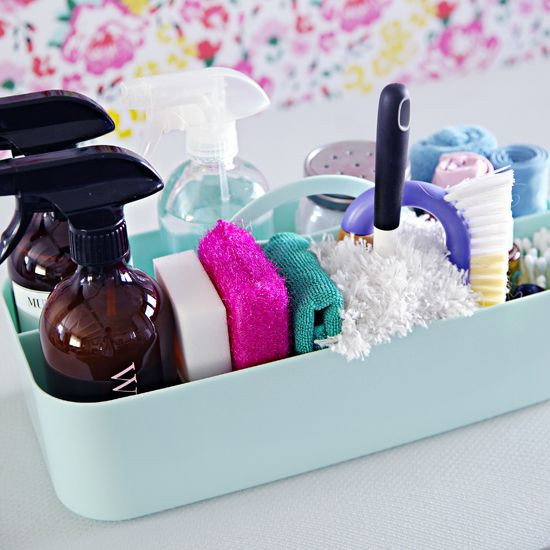 Organized Cleaning Caddy - Favorite Products, Cleaning Tips and Homemade Cleaners