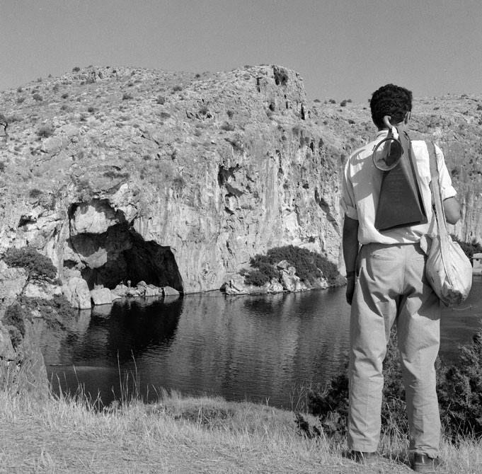 Vouliagmenis Lake. Photo by Dimitris Harissiadis. Benaki Museum Photographic Archive