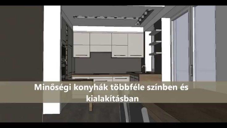 Ötletes konyhatervek videónkban a MOM Centrál luxus lakásokhoz